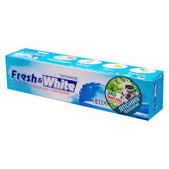 Lion, Паста зубная Fresh & White, отбеливающая, 160 г
