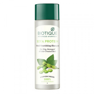 Biotique, Шампунь для волос Bio Soya Protein, 190 мл