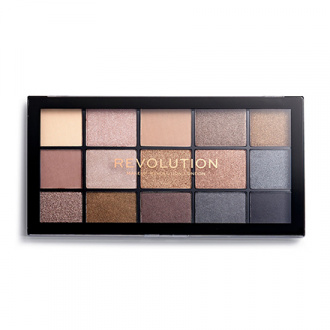 Makeup Revolution, Тени для век Re-Loaded, Smoky Newtrals
