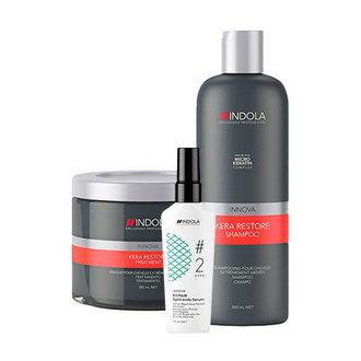 Indola, Набор для восстановления волос