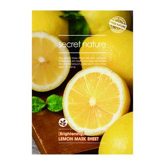 Secret Nature, Маска для лица Lemon, 25 г