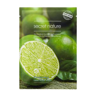 Secret Nature, Маска для лица Lime, 25 г