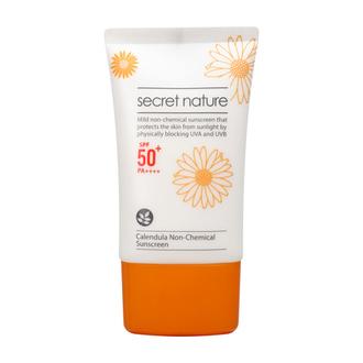 Secret Nature, Солнцезащитный крем Calendula SPF50+, 50 мл