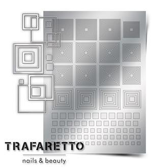 Trafaretto, Металлизированные наклейки GM-03, серебро
