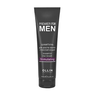 OLLIN, Шампунь для волос Premier for men Stimulating, 250 мл