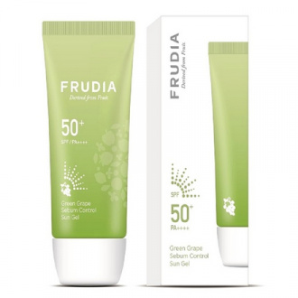 Frudia, Солнцезащитный гель Green Grape SPF50+, 50 г