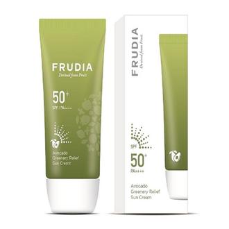 Frudia, Солнцезащитный крем Avocado SPF50+, 50 г