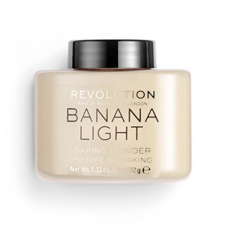Makeup Revolution, Рассыпчатая пудра Baking Banana Light