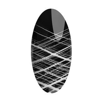 IRISK, Гелевая краска «Паутинка» №1, белая, 3 мл