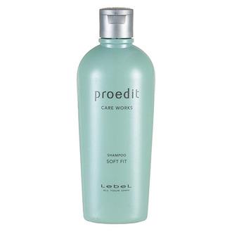 Lebel, Шампунь для волос Proedit Soft Fit, 300 мл
