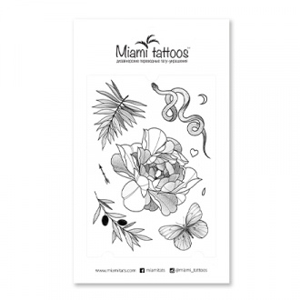 Miami Tattoos, Переводные тату Unity by Stickanbones
