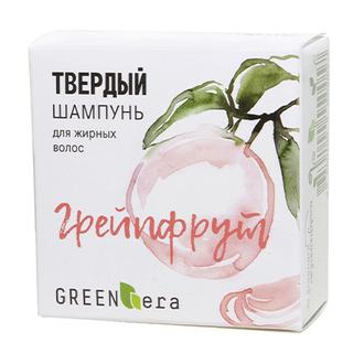 Green Era, Твердый шампунь «Грейпфрут», 55 г