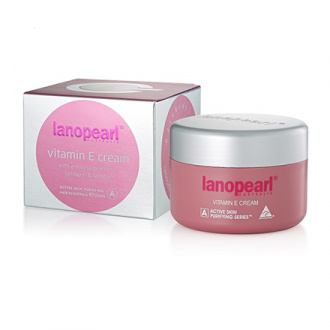 Lanopearl, Крем для лица Active Skin Vitamin E, 100 мл