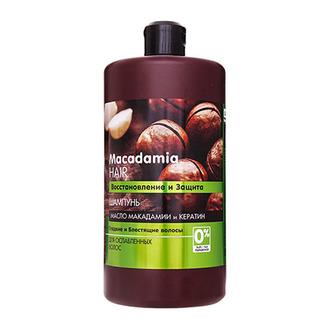 Dr. Sante, Шампунь для волос Macadamia, 1000 мл
