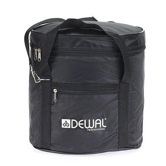 Dewal, Сумка для парикмахерских инструментов, черная, 27х23х25,5 см