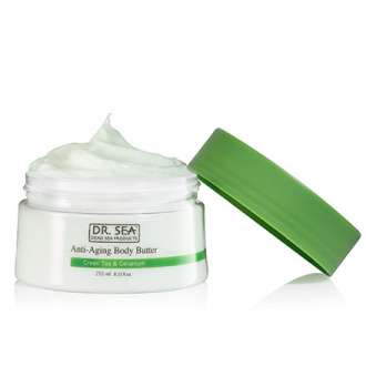 DR. SEA, Крем-масло для тела Green Tea & Geranium, 250 мл