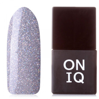 Гель-лак ONIQ Pulsar №155, Glimmering Grey