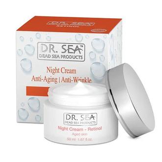 DR. SEA, Ночной крем для лица Anti-Aging Retinol, 50 мл