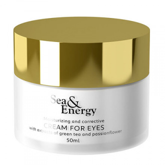 Sea & Energy, Крем для кожи вокруг глаз Green Tea and Passionflower, 50 мл