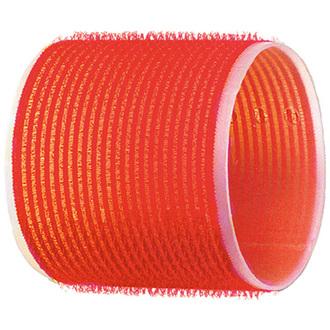Dewal, Бигуди-липучки, красные, 70 мм