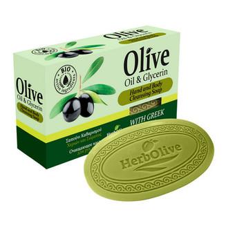 HerbOlive, Мыло для рук и тела Oil & Glicerin, 90 г