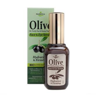 HerbOlive, Сыворотка для лица Oil, Prickly Pear & Marine Plankton, 30 мл