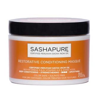 Sashapure, Маска для волос Restorative, 227 мл