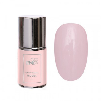 E.Mi, LED-гель Soft Pink, 15 мл