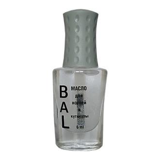 BAL Professional, Масло для ногтей и кутикулы «Кокос», 6 мл