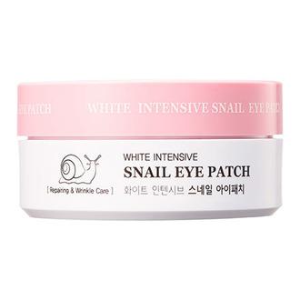 HANIxHANI, Патчи для глаз White Intensive Snail, 60 шт.