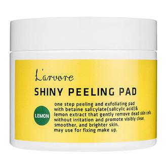 L'arvore, Пилинг-диски для лица Lemon Shiny, 125 мл