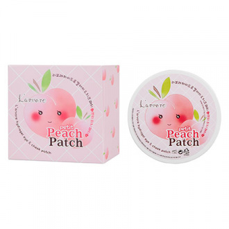 L'arvore, Патчи для глаз Petit Peach, 60 шт.