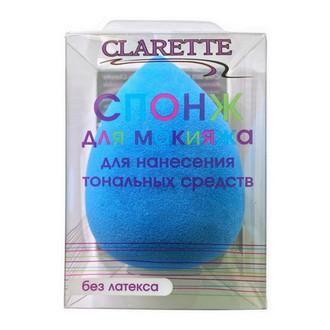 Clarette, Спонж для макияжа, голубой