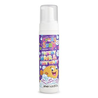 Kids Stuff, Мусс для мытья тела и волос 2 в 1, 200 мл