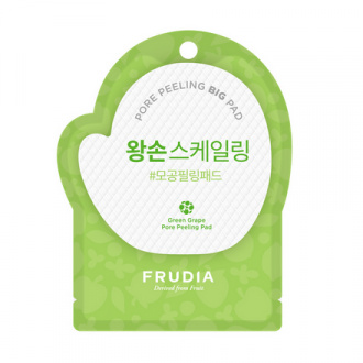 Frudia, Диск-пилинг для лица Green Grape, 1 шт.