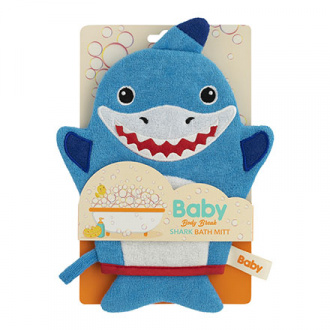 Body Break, Мочалка-варежка Baby «Акуленок»