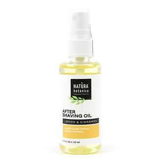 Natura Botanica, Масло после бритья «Лимон и корица», 50 мл
