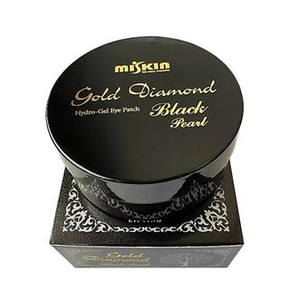 Miskin, Гидрогелевые патчи Gold Diamond Black Pearl, средние, 60 шт.