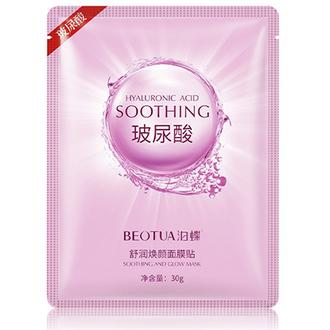 BEOTUA, Маска для лица Hyaluronic Acid Soothing, 30 г