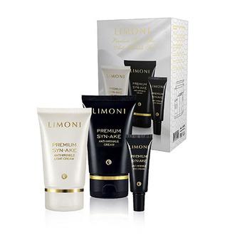 LIMONI, Набор Premium Syn-Ake Anti-Wrinkle Care №03