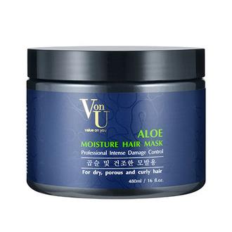 Von-U, Маска для волос Aloe Moisture, 480 мл