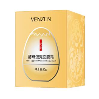VENZEN, Крем для лица Yeast Eggshell, 30 г