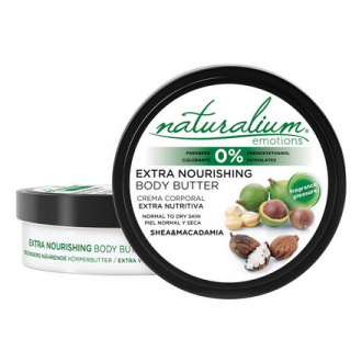 Naturalium, Масло для тела «Макадамия и ши», 200 мл