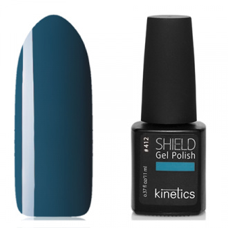 Kinetics, Гель-лак Shield №412, Kind of blue