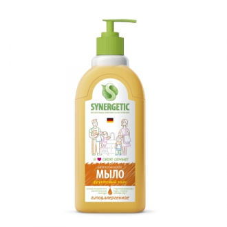 Synergetic, Жидкое мыло «Фруктовый микс», 500 мл