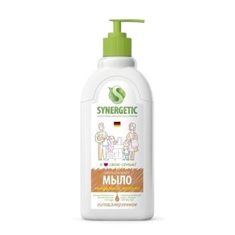 Synergetic, Жидкое мыло «Миндальное молочко», 500 мл
