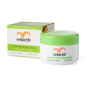 Rebirth, Крем для лица Lanolin Anti-Wrinkle, 100 мл