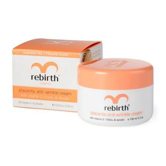 Rebirth, Крем для лица Placenta Anti-Wrinkle, 100 мл