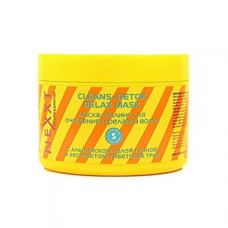 NEXXT professional, Маска-пилинг Cleans-detox, 500 мл