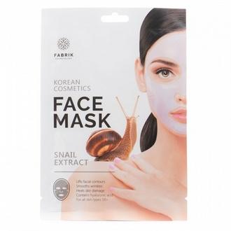 Fabrik Cosmetology, Маска для лица, гидрогелевая, с экстрактом улитки